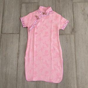 Pink Chinese New Year Dress